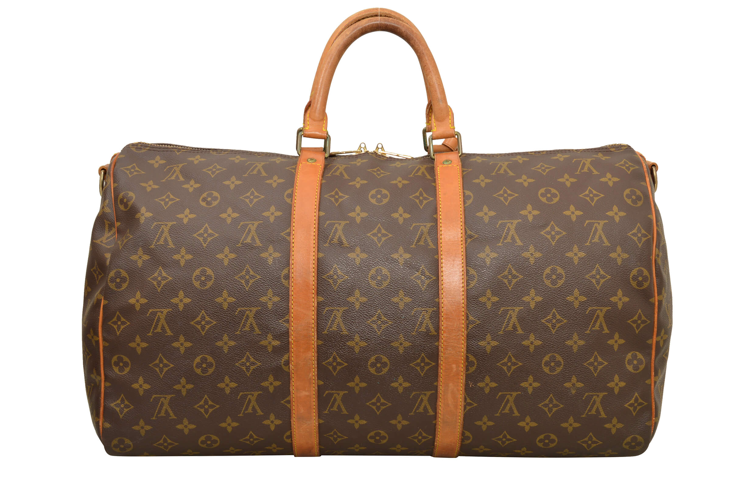 louis vuitton monogram keepall 50 bandouliere travel bag m41416 d02958 ebay. Black Bedroom Furniture Sets. Home Design Ideas