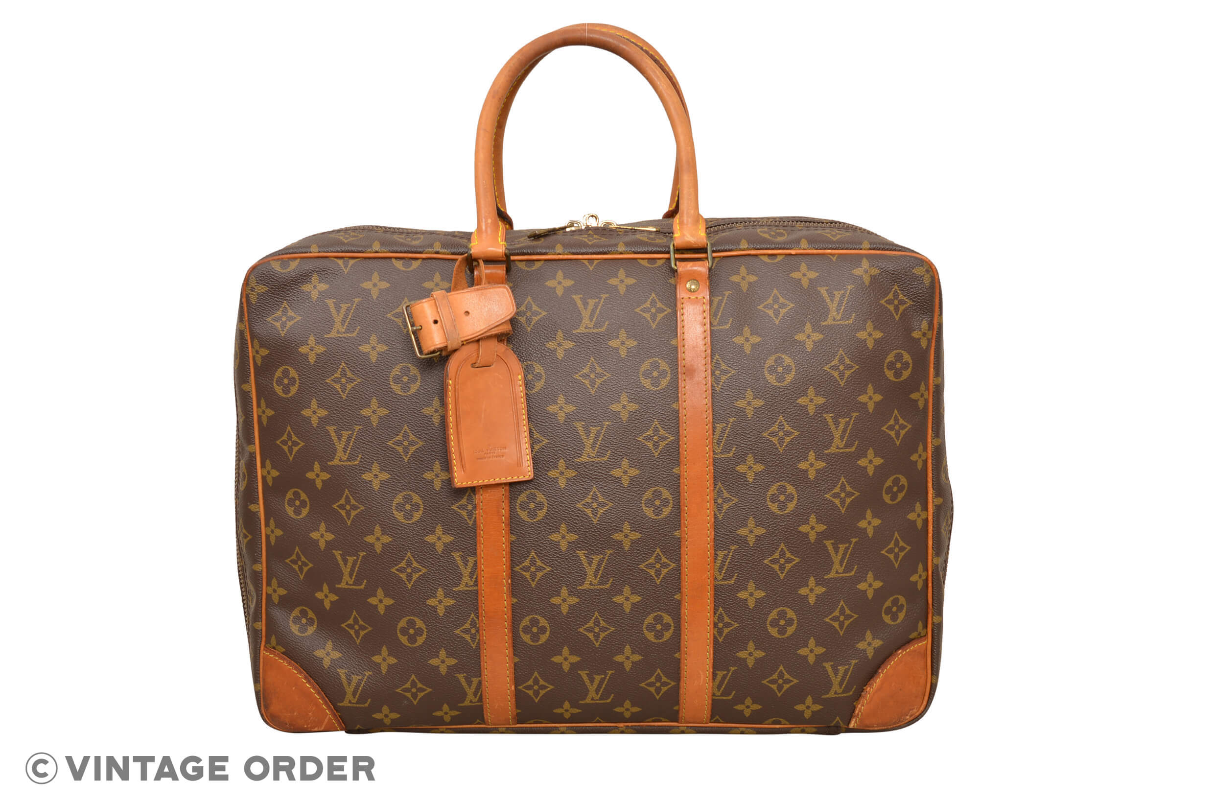 Details about Louis Vuitton Monogram Sirius 45 Travel Bag Suitcase M41408 -  E01529 a5db18a3d7
