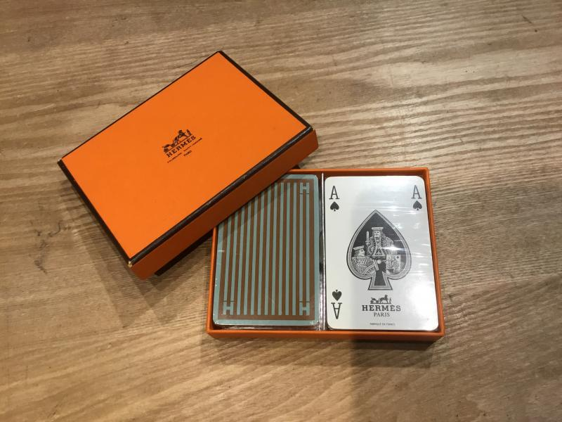 HERMES Playing cards $85.00